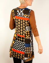 Colorful patchwork vest