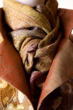 complex twill scarf/ jacket