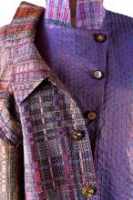 handwoven jacket w/vest