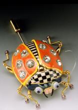 ladybug stickpin