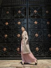 Woman in coat by Aizhan Bekkulova