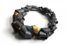 polymer shell necklace